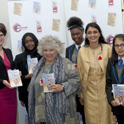 Miriam Margolyes, Aneeta Prem, Vineeta Thornhill, Chloe Smith MP …dom charity