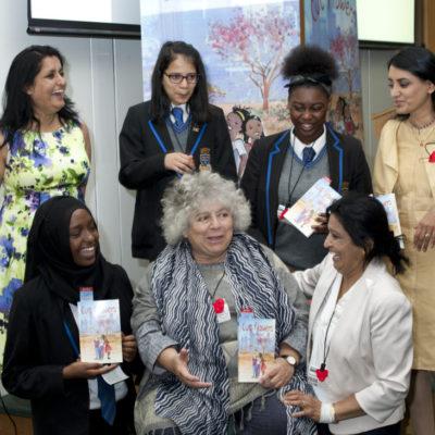 Miriam Margolyes, Savita Prem , Aneeta Prem, Vineeta Thornhill, cut flowers, fgm, freedom charity,