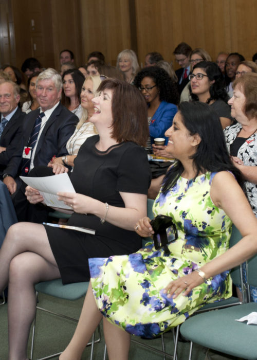 Nicky Morgan MP, Vineeta Thornhill, Cut Flowers FGM book, freedom Charity , aneeta Prem